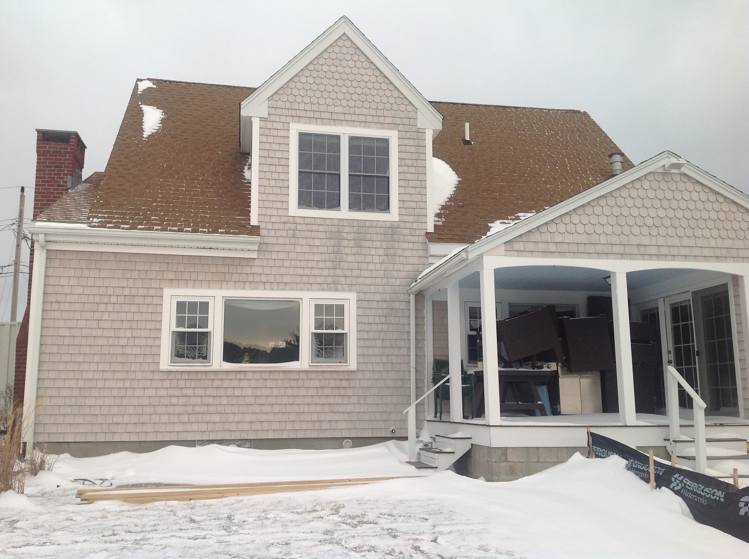 Home renovation cape cod for Cape cod house remodel